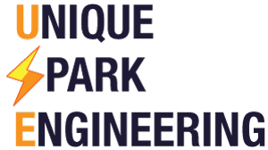 unique spark engineering logo
