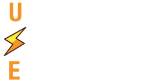 unique spark engineering white logo